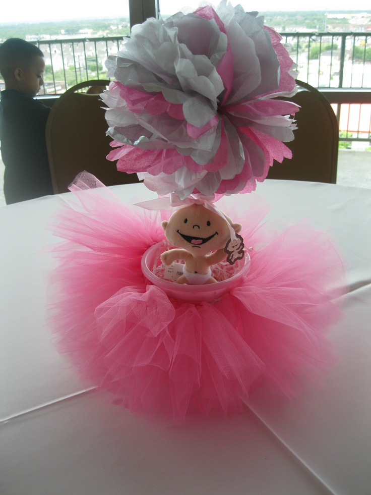 Baby Shower Centerpiece  Love This @Lindsay Dillon Dillon Adams Parente  Some Tables These And