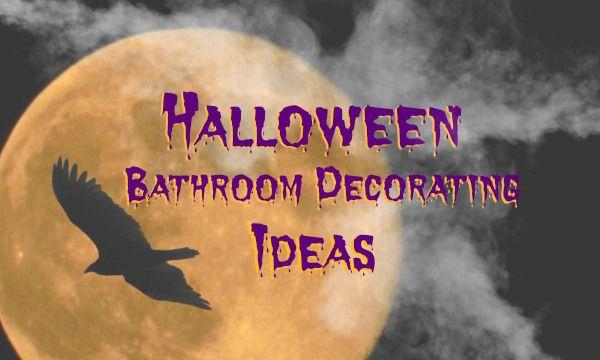 Halloween Bathroom Decor Is Fun or Creepy!  #halloweendecor  #halloween #bathroom