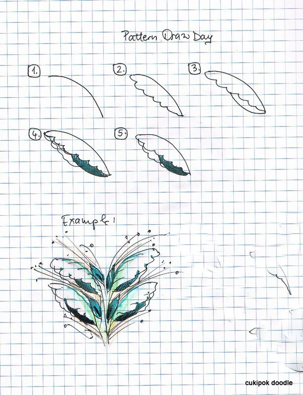 cukipok doodles: pattern draw