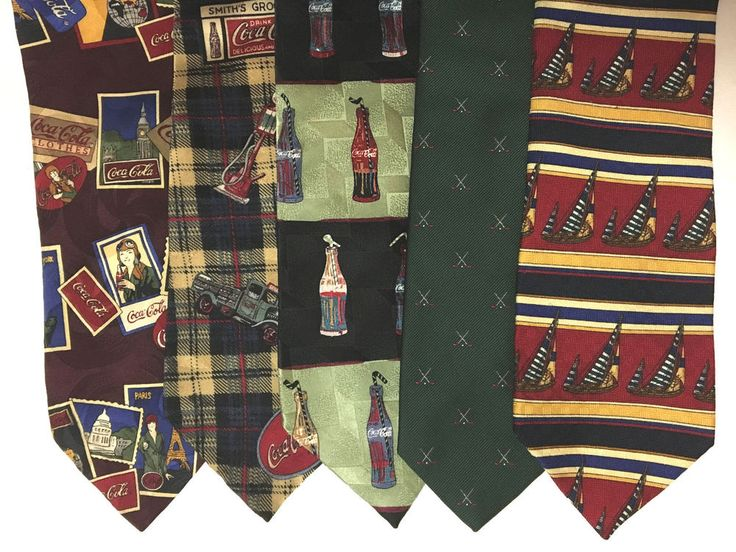 Silk Ties Novelty Selection of Unique and Tasteful Novelty Ties in Fine Silk #CocaColaJosABanksKeelerBay #Tie
