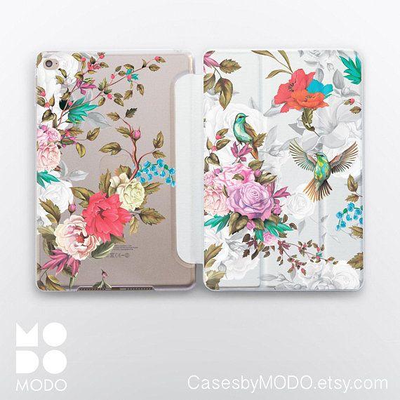 iPad Pro 11 Cover iPad Mini 5 2019 4 iPad 9.7 2017 Smart Folio iPad 10.5 Floral iPad Mini 5 Case Flowers iPad Mini 3 iPad Air 2 Case WC4511