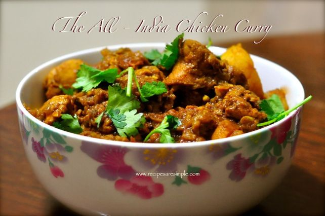 Indian Chicken Curry -...