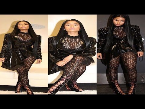 Female Rapper @nickiminaj Endorces Hillar Clinton while Disses Donald Tr...