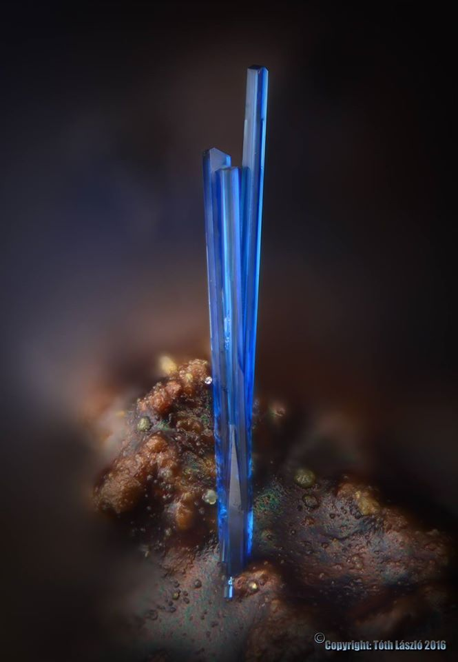Clinoclase from Vieja Mine, Chile