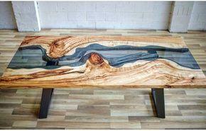 Необычные деревянные столы со стеклом - Дизайн интерьеров   Идеи вашего дома   Lodgers