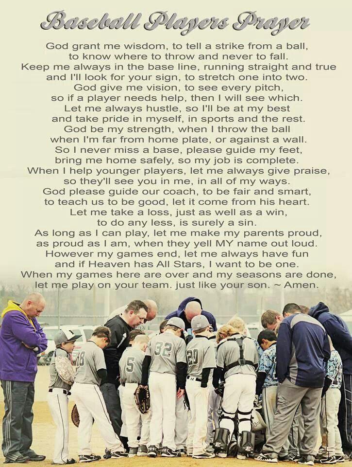 Baseball prayer                                                                                                                                                                                 More