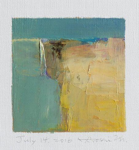 July 14 2016 Original Abstract Oil Painting by hiroshimatsumoto