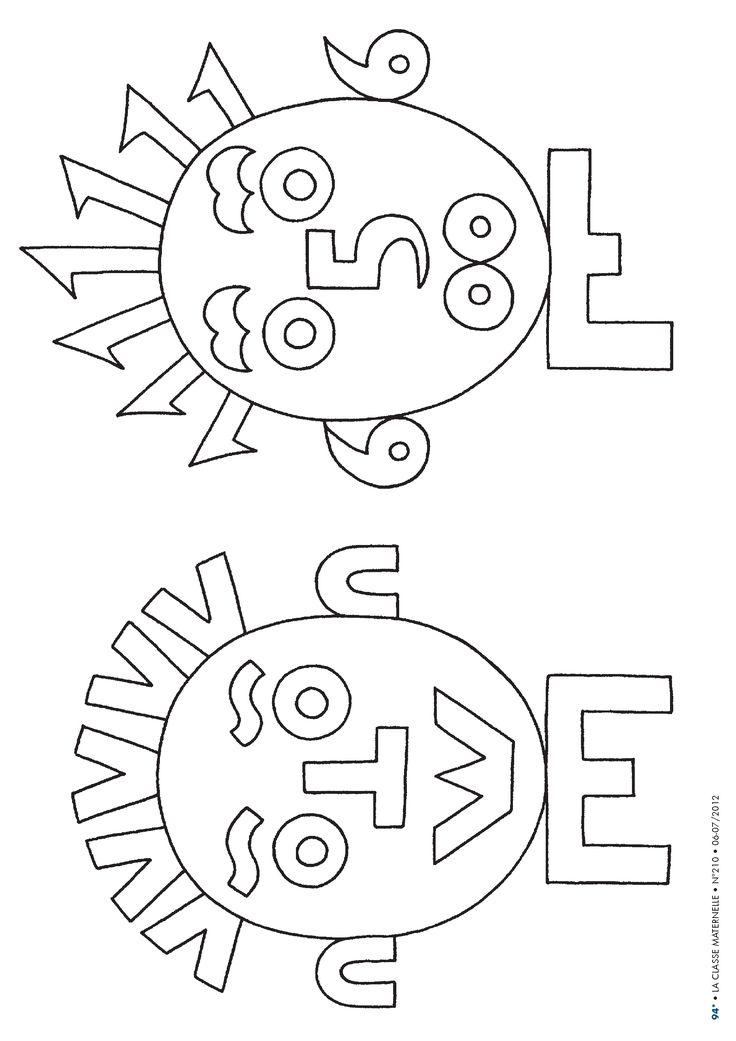 Une idée pour réaliser des portraits rigolos en n'utilisant que des chiffres et des lettres.