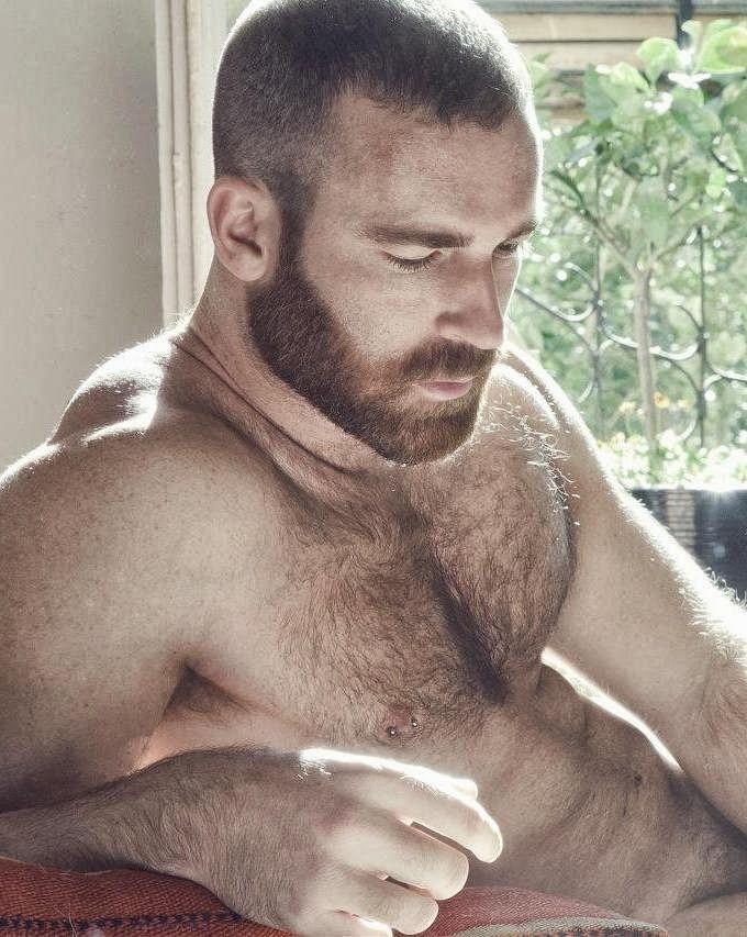 Hairy Bear. Men. Beards. Fur. Steel. Woof!
