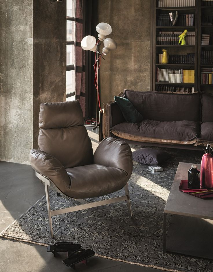 Jupiter by Arketipo is a modern and dynamic armchair, with a timeless elegance.