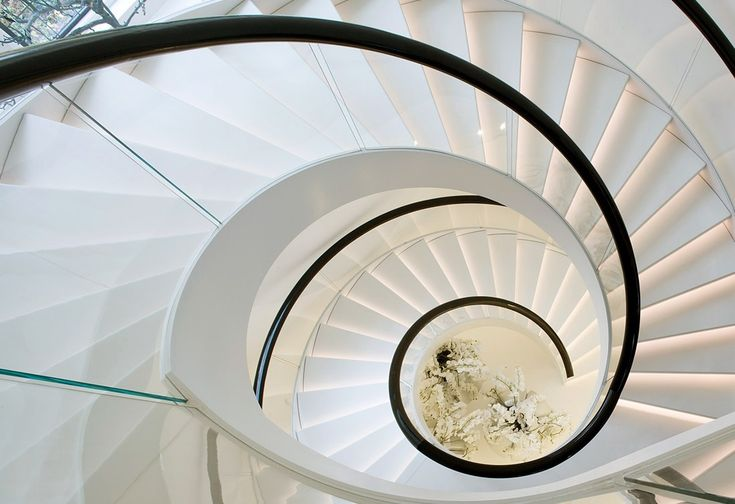 Stairs in a London, England home