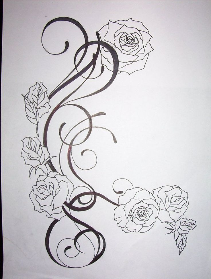 tatto flower drawings | flower tattoo design by *tattoosuzette on deviantART