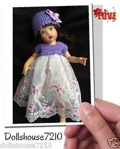 "Crochet&Lace outfit for 7.5-8"" Kish Riley Helen Kish,Tonner BJD,Fairyland | eBay"