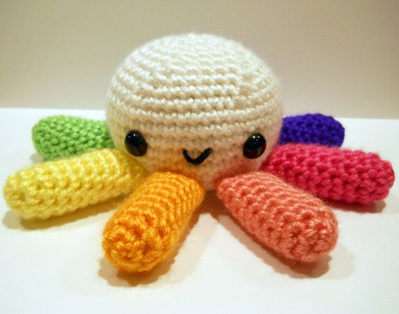 Easy Amigurumi Octopus : Amigurumi crochet patterns by mevvsan on etsy