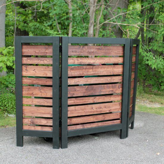 17 best ideas about privacy screens on pinterest garden for Simple deck privacy screen
