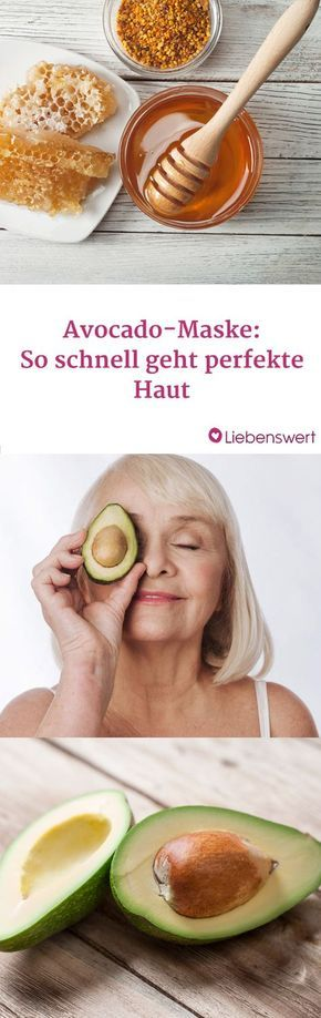 Making an avocado mask yourself: That's how it works