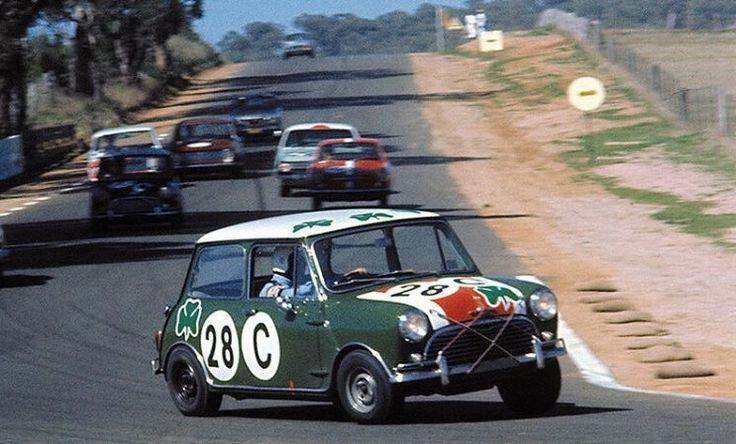 Mini Cooper Wins Bathurst, 1966