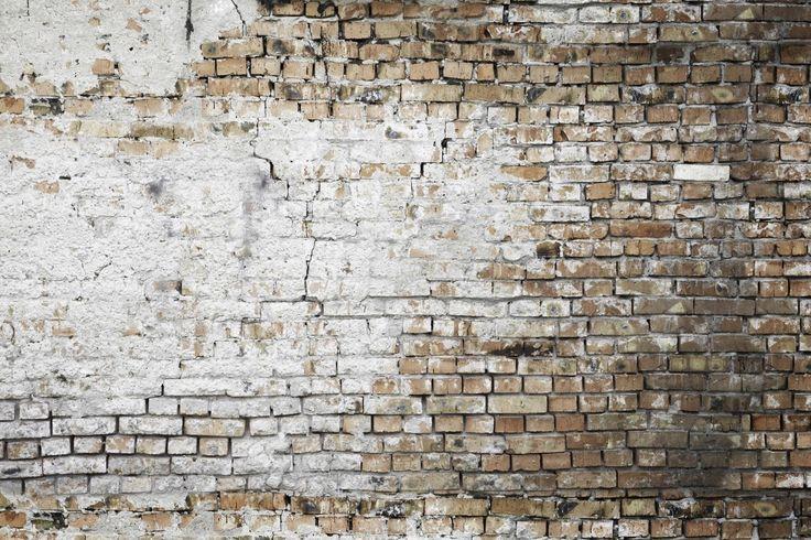 Faux walls scandinavian wallpaper d corscandinavian for Brick mural wallpaper