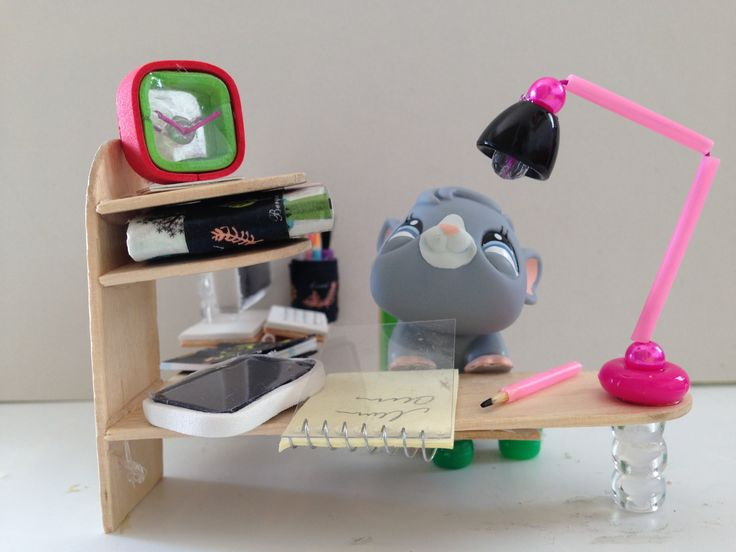 How to make LPS accessories: a LPS desk lamp