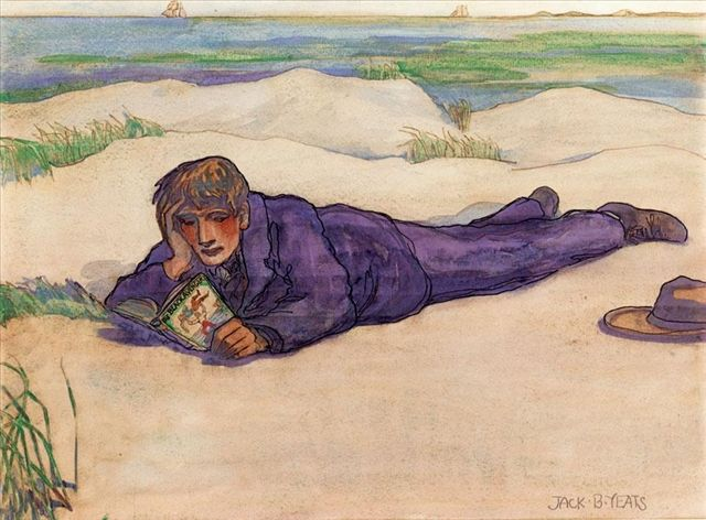 Jack Butler Yeats - A Tale of Piracy