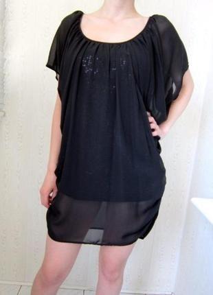 Платье - туника / поетки, шифон / vera mont+(Vera Mont)+ за+280+грн.