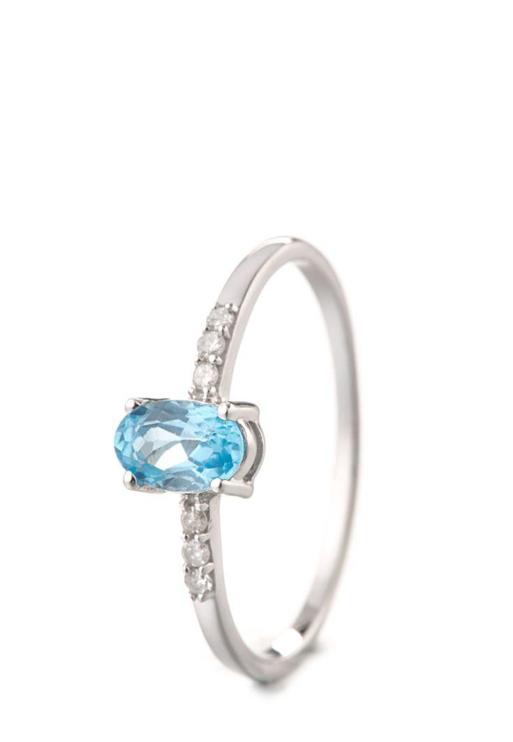 ART OF Diamond Ring, 9K Weißgold, Aquamarin, Diamant silber Jetzt bestellen unter: https://mode.ladendirekt.de/damen/schmuck/ringe/silberringe/?uid=1869dae9-b8e0-51ee-808e-c0b62392b36a&utm_source=pinterest&utm_medium=pin&utm_campaign=boards #schmuck #ringe #bekleidung #silberringe Bild Quelle: brands4friends.de