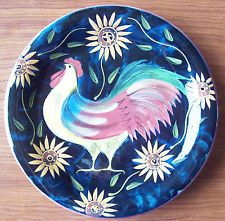 Certified International CIC Susan Winget Rooster u0026 Sunflowers Dinner Plate ...  sc 1 st  Pinterest & 142 best Susan Winget Dinnerware images on Pinterest | Cutlery ...