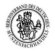 Mitglied im Berufsverband Münzenfachhandel