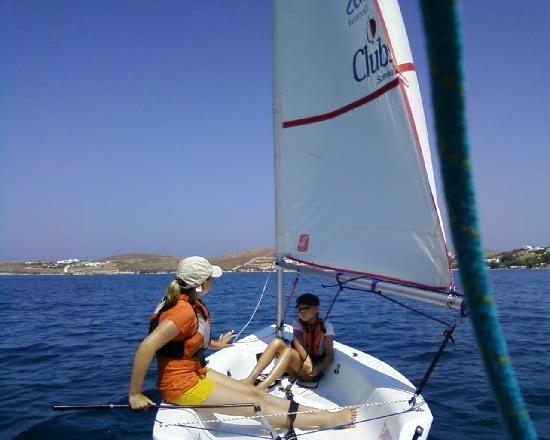 #Sailing courses in Paros! #activities