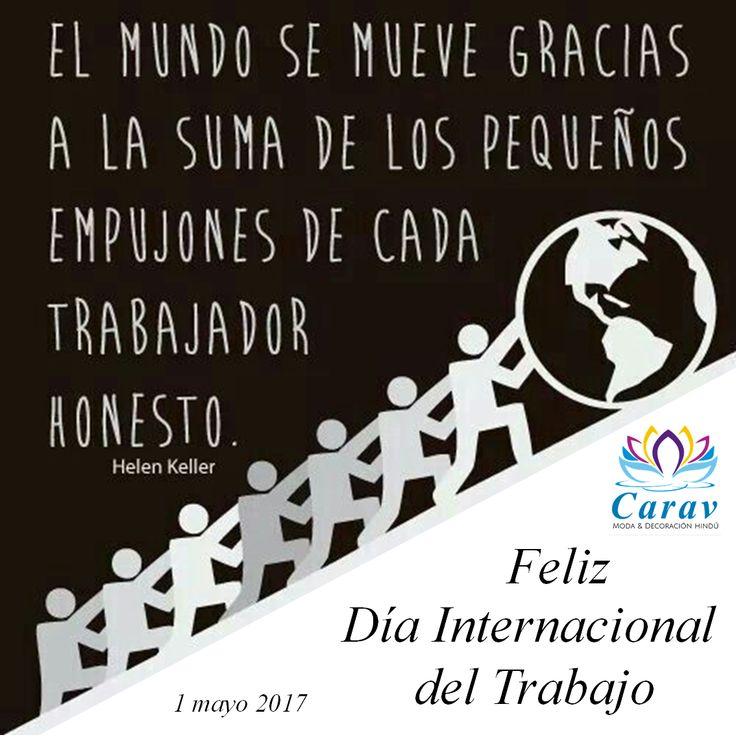 En #Carav deseamos un#FelizDia a todos nuestros #amigos y #clientes #trabajadores.   Y para #celebrar, te damos10% de #descuento en toda la #tienda con el #cupón: SOYTRABAJADOR  Cupón valido del 1 al 3 de mayo de 2017, solo para #compras a través de nuestra pagina web www.carav.co  Más info por inbox o whatsapp3156711224 ✈️ Envios 100% seguros a todo el país  #Colombia  #Felizdiadeltrabajador #trabajo #diadeltrabajo #descuentos #tiendavirtual