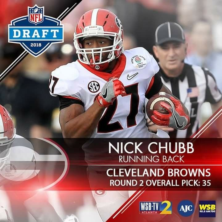 Congratulations Nick Chubb We Are So Proud Of You Georgia