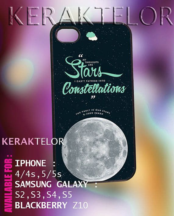 John Green The fault in our stars  iPhone by KERAKTELOR on Etsy, $13.00