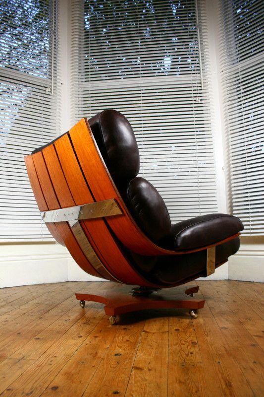 Ib Kofod Larsen, Housemaster Lounge Chair for G-Plan, 1960s.