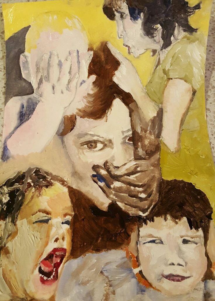 Children with  voices