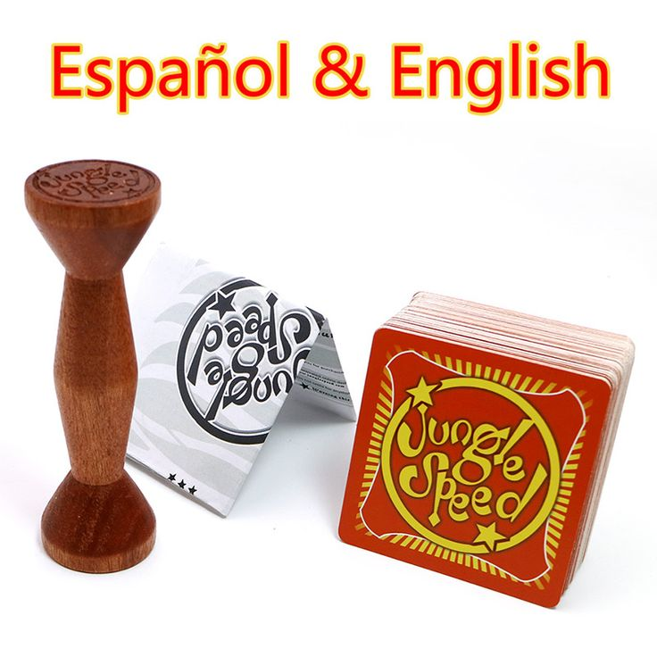 BUY now 4 XMAS n NY!  English Spanish Jungle Speed board game cards for family party kids table playing Selva juego de mesa de velocidad -- Click the VISIT button for detailed description at AliExpress website