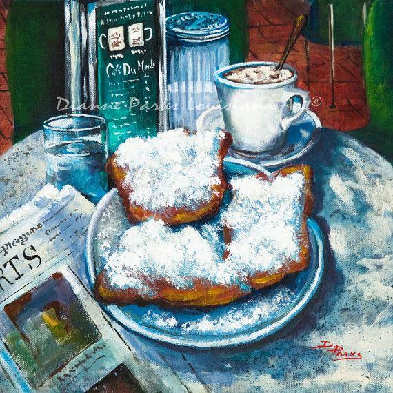 New Orleans Louisiana New Orleans Art Louisiana by DianneParksArt