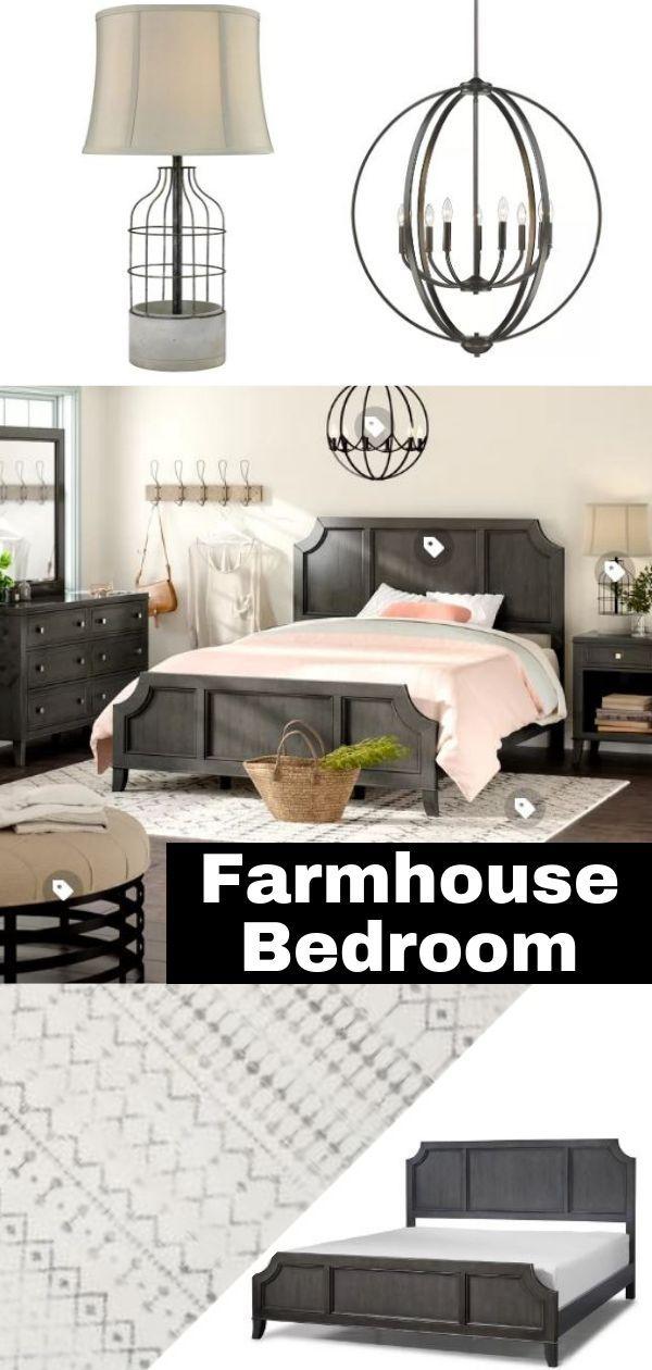 farmhouse room decor rustic farmhouse bedroom bedroom decor pinterest farmhouse Farmhouse inspired bedroom #ad #BedroomDecor #FarmhouseDecor # FarmhouseBedroom #BedroomIdeas