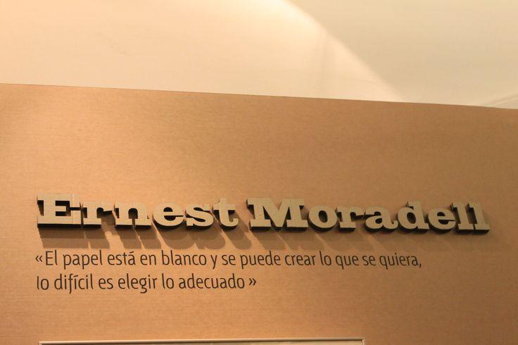 Grafistas / Diseño gráfico español 1939 - 1975 / Ernest Moradell / Museo de Artes Decorativas