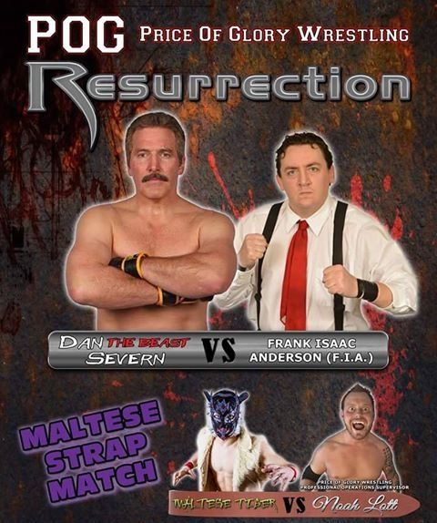 <p>I traveled down to Coldwater once again for Dan Severn's Price of Glory Wrestling promotion. The action was as hot as the temperature outside on this Saturday night. Before I begin with my thoughts here are the results of the…</p>