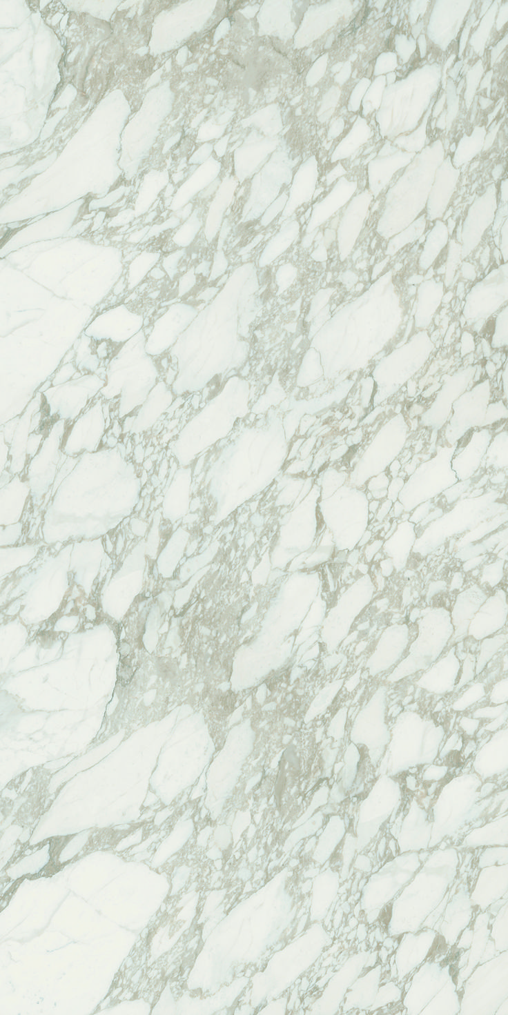 Arabescato Six+.  6mm porcelain sheets.  Available in a polished finish.