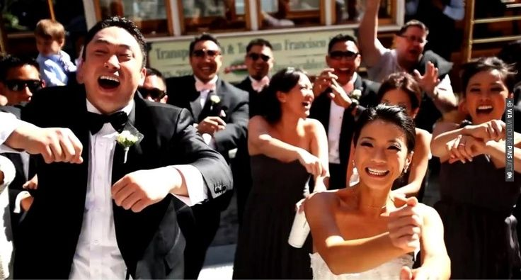 A must see 'Gangnam Style' Wedding Video! So funny! via Bridal Musings | CHECK OUT MORE IDEAS AT WEDDINGPINS.NET | #weddings #weddinginspiration #inspirational