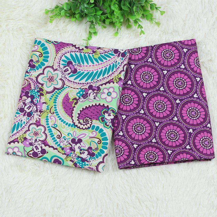 Новые В.Б микки ткани органический хлопок 100% ткань для лоскутных одеял шьют DIY тканям Одежда Домашний текстиль