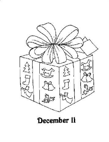 Malvorlage Advent