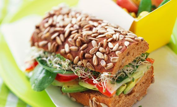 Panino vegano la ricetta per il pic nic di Ferragosto!   100% green kitchen