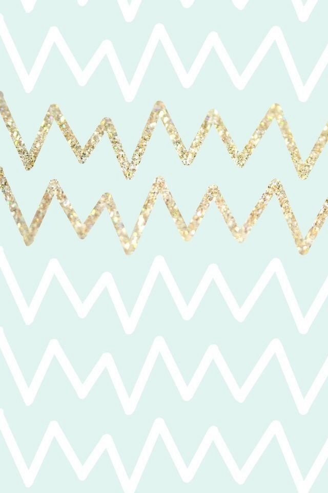 Imperfect chevron as a background would really pop - even behind your apps! The glittery gold adds a bit of flair and can't be missed! iPhone Wallpaper - specially sized & shaped to fit the screen of your iPhone.