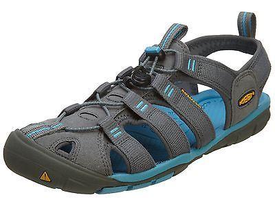 Keen Clearwater Cnx Womens 1008772-GargoyleNorseBlue Grey Sandals Wmns Size 6.5