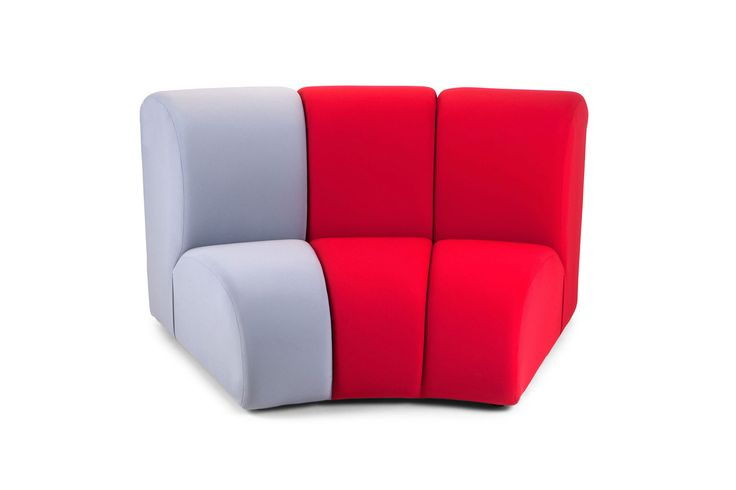 Curvo Nibbler by Adrenalina.  Funky sofa, bright colours, made of durable, reliable fabric. Ultramodern and ironical, for a touch of contemporary in your house.  My Italian Living