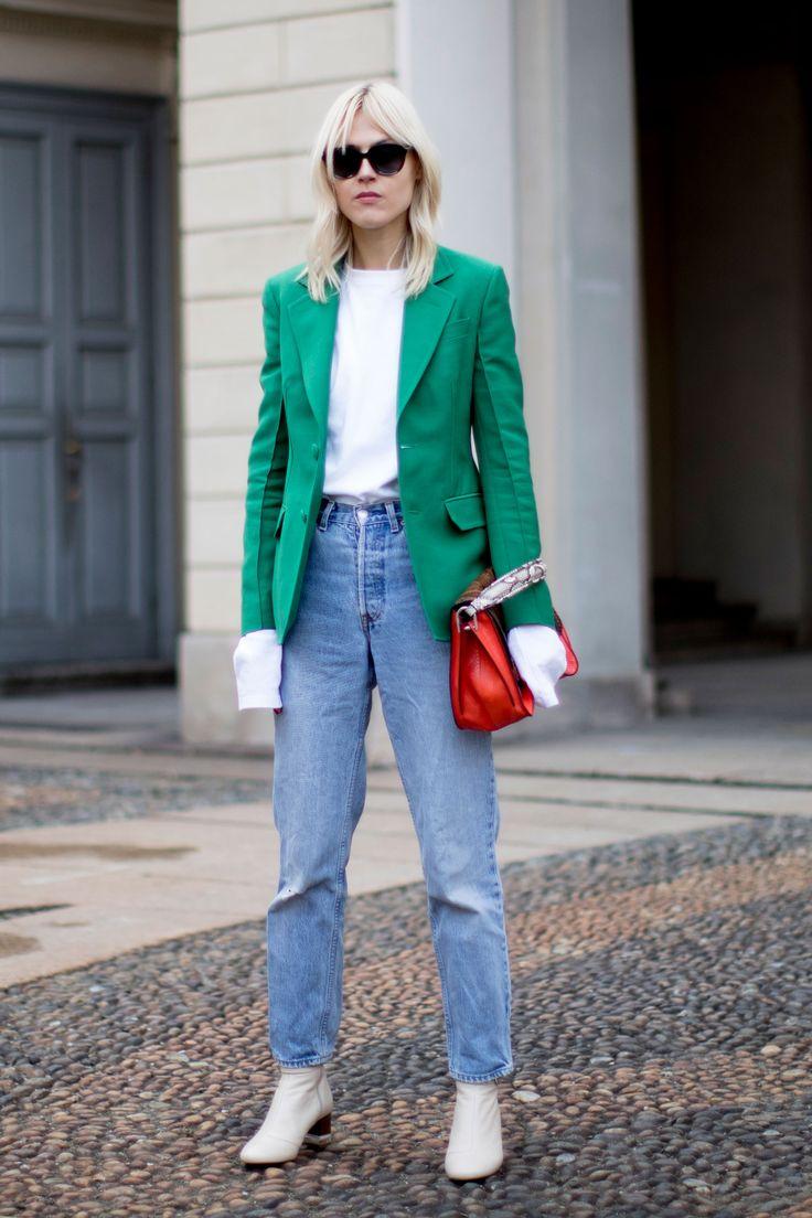 Milan Fashion Week Fall 2017 Street Style Day 3 - The Impression