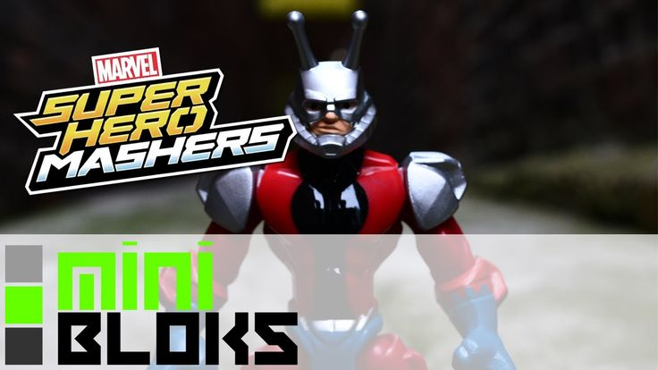 Ant-Man hit the movie theatres last year, but that also meant Marvel's smallest Hero got a whole number of Toys!  Including this great Marvel Superhero Masher by Hasbro!  As a big Ant-Man Fan, I was thrilled to do this Video!  Not to mention this was the my very first Video on MiniBloks - and is special for that reason!  Also it's not all that bad!  Make sure to check out my Channel over on Youtube!  M.B