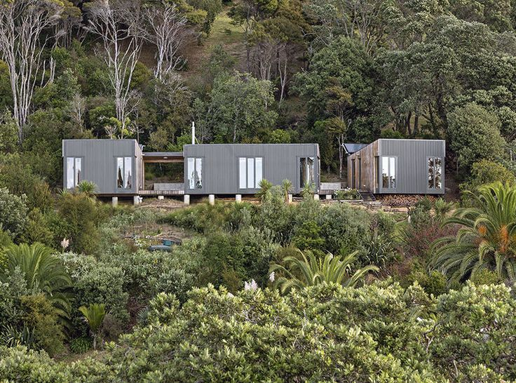 elbow grease a prefab escape arrives at a remote new zealand beach